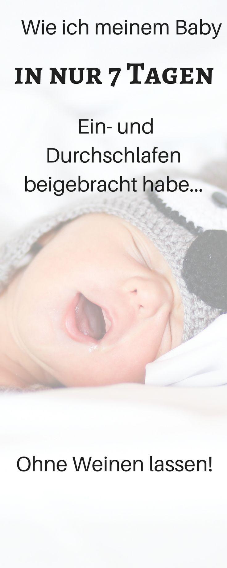 Ich habe es geschafft, dass mein Baby innerhalb von 7 Tagen ein - und durchschlafen gelernt hat. Ohne das Baby beim Schlafen weinen oder schreien zu lassen. Baby schlafen, Baby schlafen lernen, kein ferbern, Einschlafprogramm für Baby, baby schlafen Kleidung, Baby schlafen anziehen, Baby schlafen lustig, Elternbett, in den Schlaf stillen, schlaf baby, baby schlaf 1 jahr, baby schlaf 6 monate, baby 3 monats koliken hausmittel