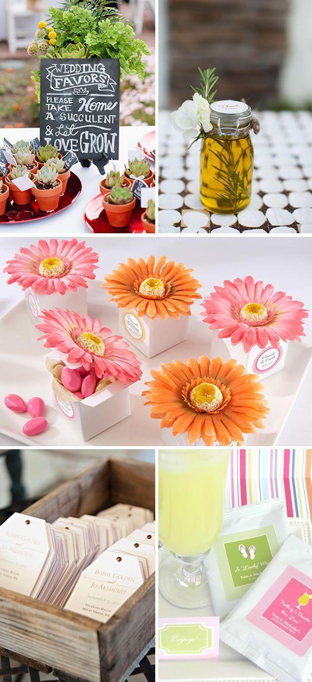 Spring #Wedding #Favor Ideas | WeddingWire: The Blog