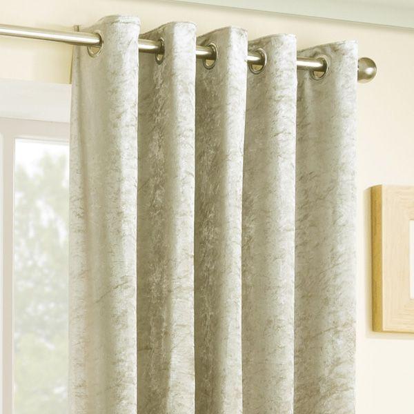 Velva Natural Eyelet curtains