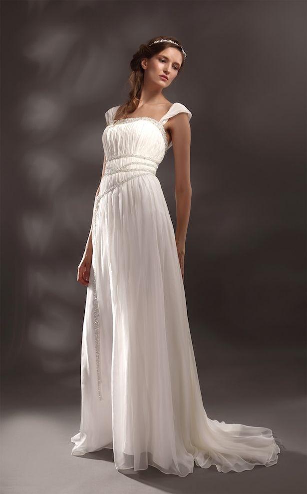 Greek Goddess Style Wedding Dresses Greek Wedding
