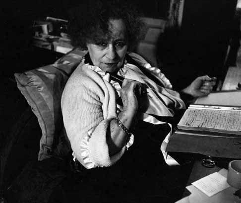 Robert Doisneau // Colette , 1950.