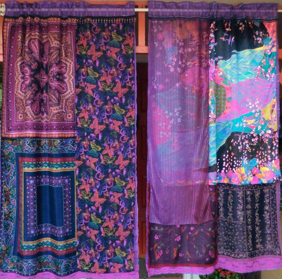 SERENDIPITY Handmade Gypsy Curtains by BabylonSisters on Etsy, $175.00