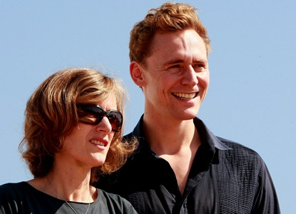 Joanna Hogg, director of Archipelago and Unrelated, on set with actor Tom Hiddleston.  http://www.curzoncinemas.com/film_on_demand/263/archipelago/