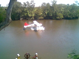 Georges River - Sea plane