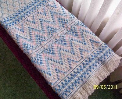 Swedish Weaving Club: Nicole's Swedish Weaving Afghan