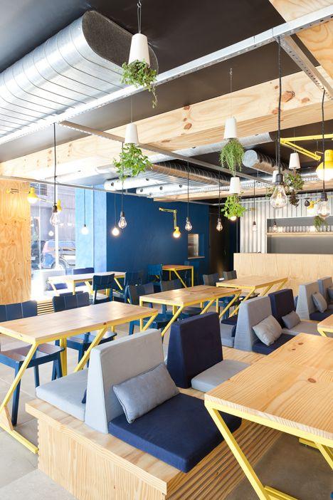 Restaurant Interior Design | Food Courts | Fast Food Design | Bien Restaurant by Suite Arquitetos