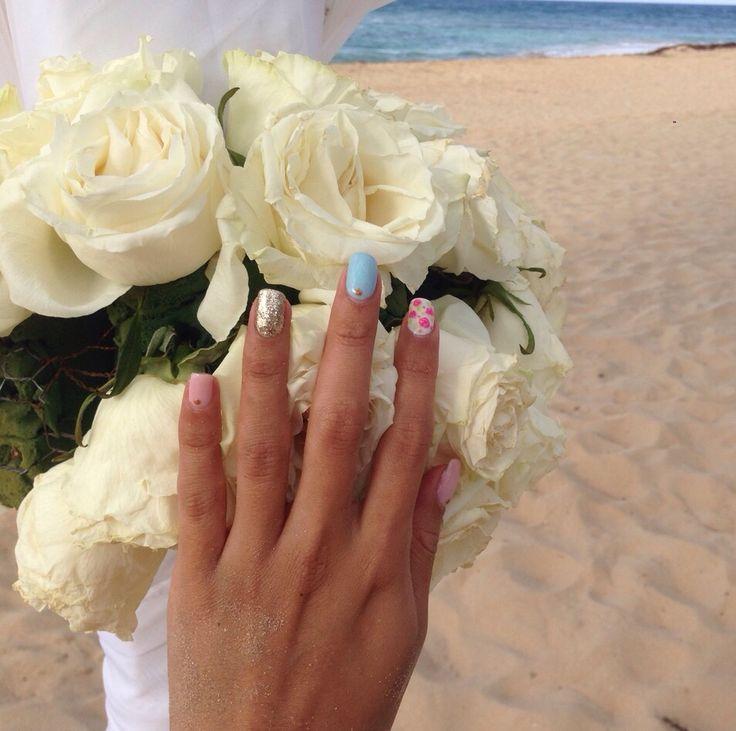 Wedding nails #nails #nailart #lacquerpro
