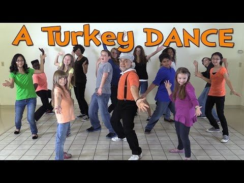 Thanksgiving Songs for Children - A Turkey Dance - Dance Songs for Kids by The Learning Station - YouTube