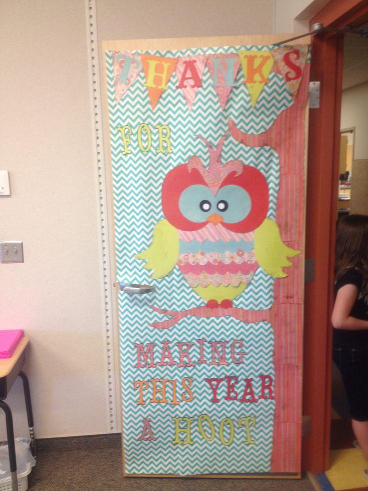 Teacher Appreciation Door Decoration