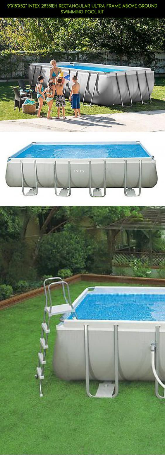 "9'x18'x52"" Intex 28351EH Rectangular Ultra Frame Above Ground Swimming Pool Kit #drone #fpv #racing #9 #products #camera #tech #plans #pools #technology #parts #kit #gadgets #shopping"