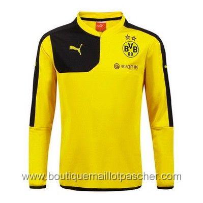 maillot de foot pas cher puma Training Borussia Dortmund 2016 Jaune