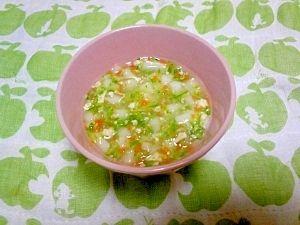 <離乳食中期>鶏オクラうどん レシピ・作り方 by 愛也花ママ|楽天レシピ