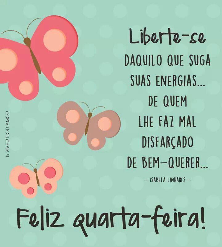 Papo de Mulher: Bom Dia Quarta - Ferira !!