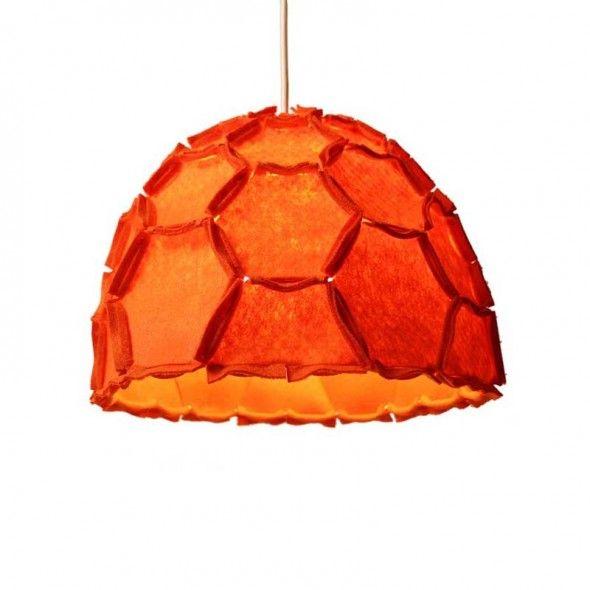 Nectar Lamp Shade Half Orange
