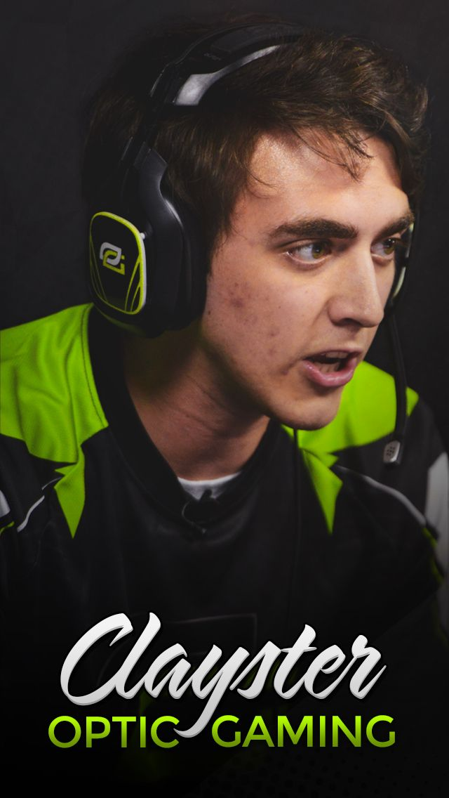 Optic Clayster Wallpaper