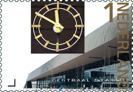 37 best clock stamps images on pinterest postage stamps 175 jaar spoorwegen in nederland fandeluxe Gallery