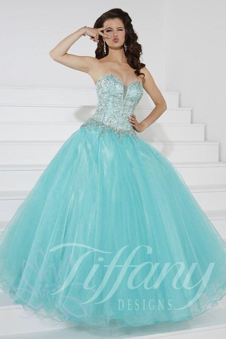 38 best Tiffany Presentation images on Pinterest   Ball dresses ...