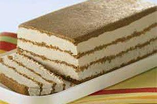 Cappuccino Cheesecake Frozen Dessert recipe - my mom's favorite which I'm making tonight for her birthday