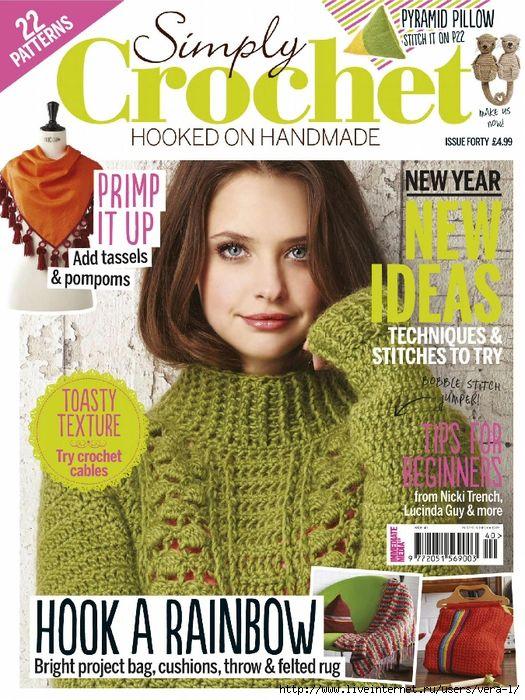 Simply Crochet №40 2016