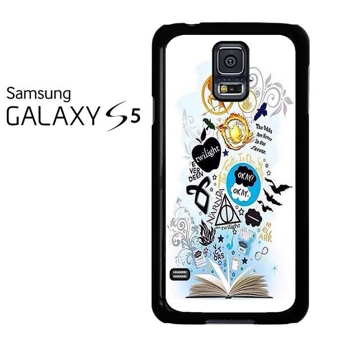 Throne Of Glass Percy Jackson And Harry Potter Symbol Samsung Galaxy S5 Case