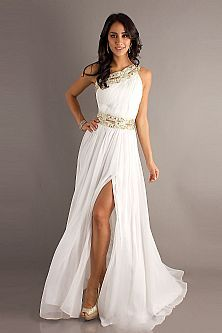 Glamour egyptian style prom dresses