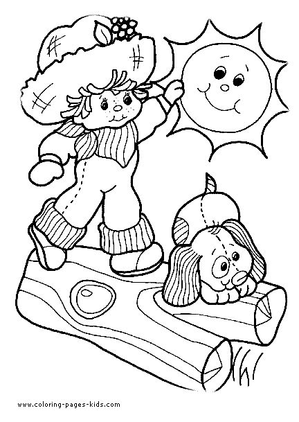 scooby doo coloring pages | Colorir e Pintar: Strawberry Shortcake Coloring Pages
