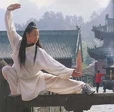 Tai Chi is good for health, and its motion is beautiful.