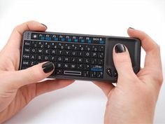 Miniature Wireless USB Keyboard with Touchpad Perfect companion for a Raspberry Pi computer!