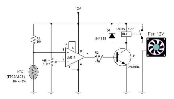 traffic lights circuit diagram on breadboard