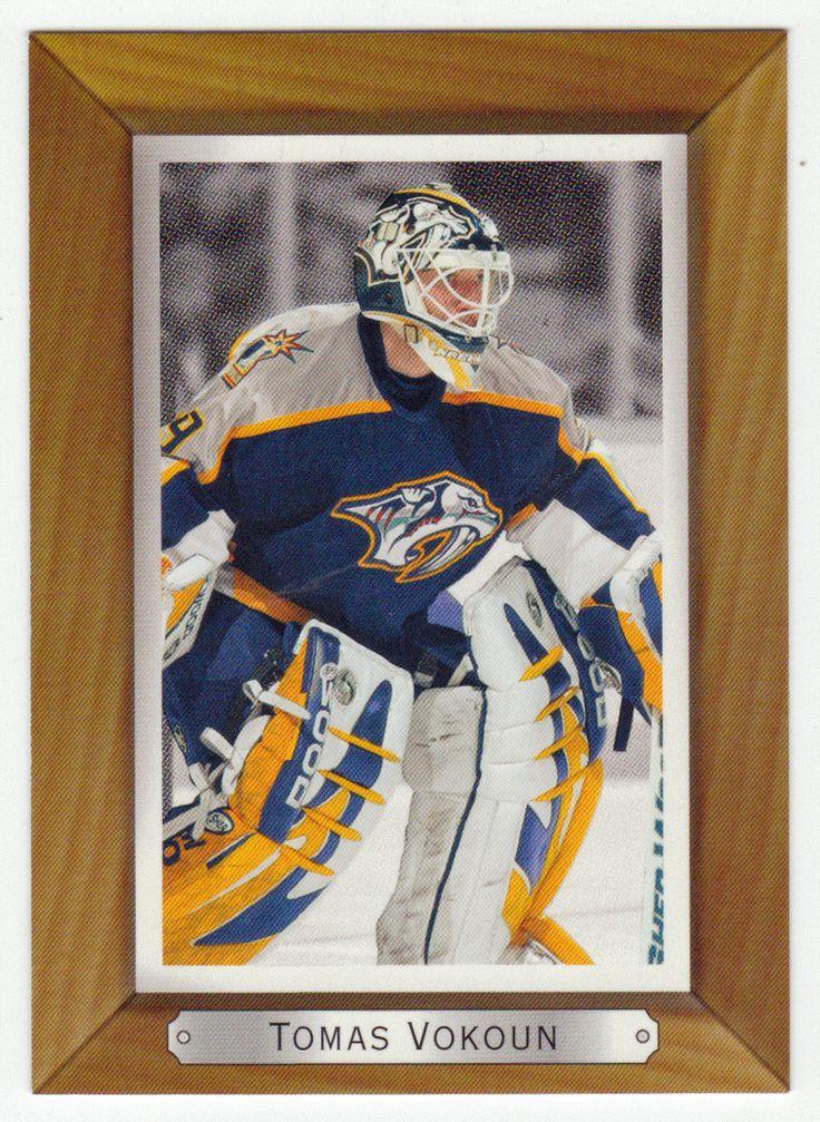 Tomas Vokoun # 110 - 2003-04 Upper Deck Bee Hive Hockey