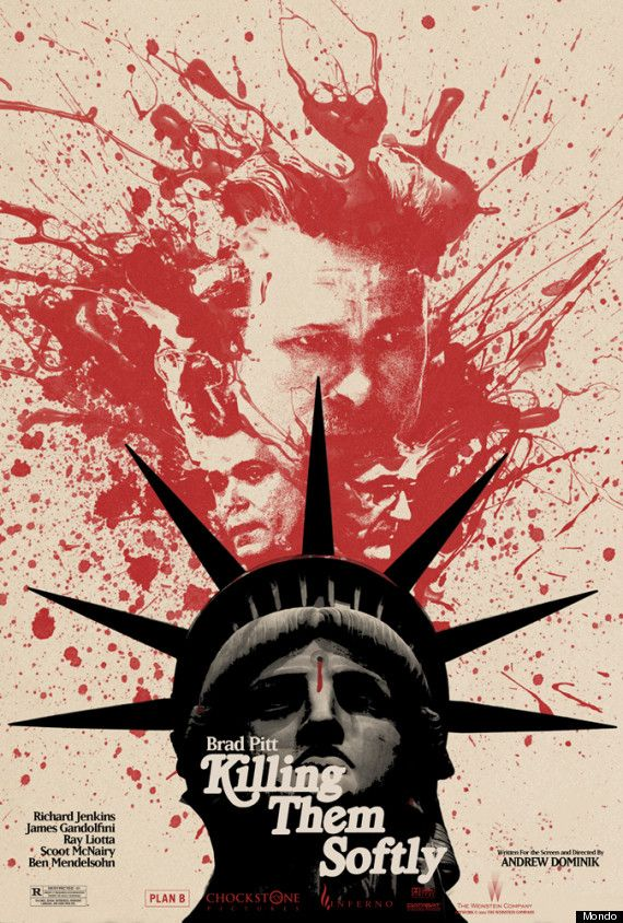 Are the 6 New 'Killing Them Softly' Posters Among the Best of the Year? We Think So. These have to be by Jay Shaw