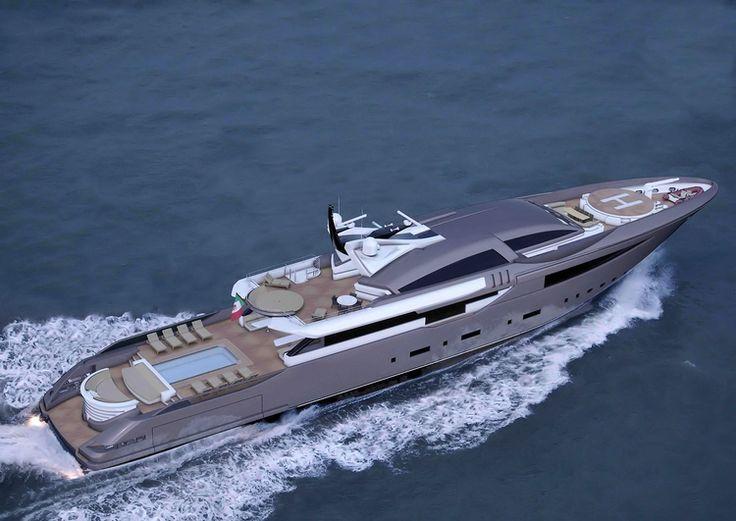 Amazing Yachts: Dislopen CRN 62m Sport Concept