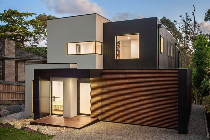 Modern double story luxury home