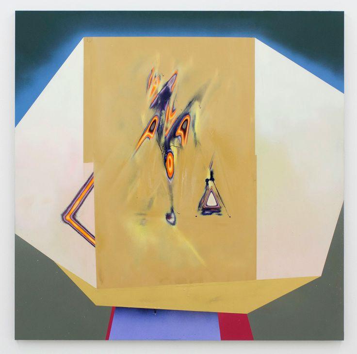 """Akiyoshi Mishima """"Tawaraya"""", 2014 Lack, Acryl 91 x 91 cm"""