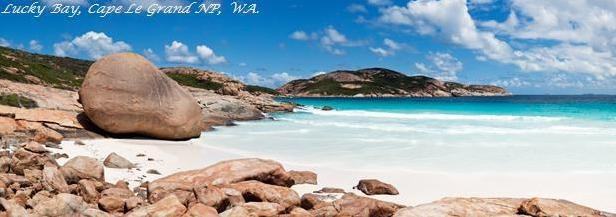 Country's top-ranked swimming beaches. Only 40 minute drive from Esperance.