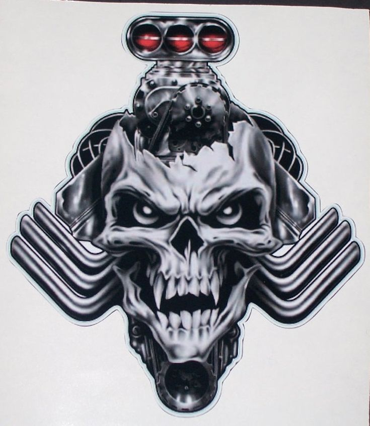 tribal Blower Head Skull trailer Window Decal Decals Sticker Truck Skulls Drag Car Racing Windscreen Sportbike Graphics by SuperbDecalsLLC on Etsy