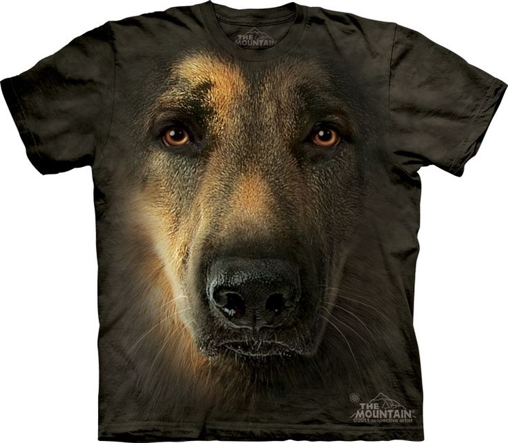 german shepherd t-shirt - Click image to see hundreds of different animal t-shirts #themountaintees