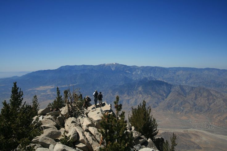 Located only miles from Palm Springs, San Jacinto tops out at over 10,000 feet like Mt Baldy. What makes this hike epic is that you get to ride the Palm Springs Tram up 8,000 feet before you hike from the drop off point to the summit 6 miles away.