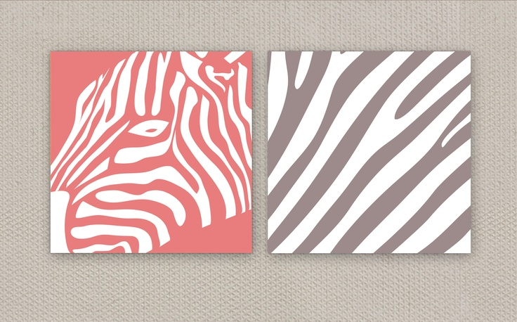 ZEBRA wall art by deko boko.