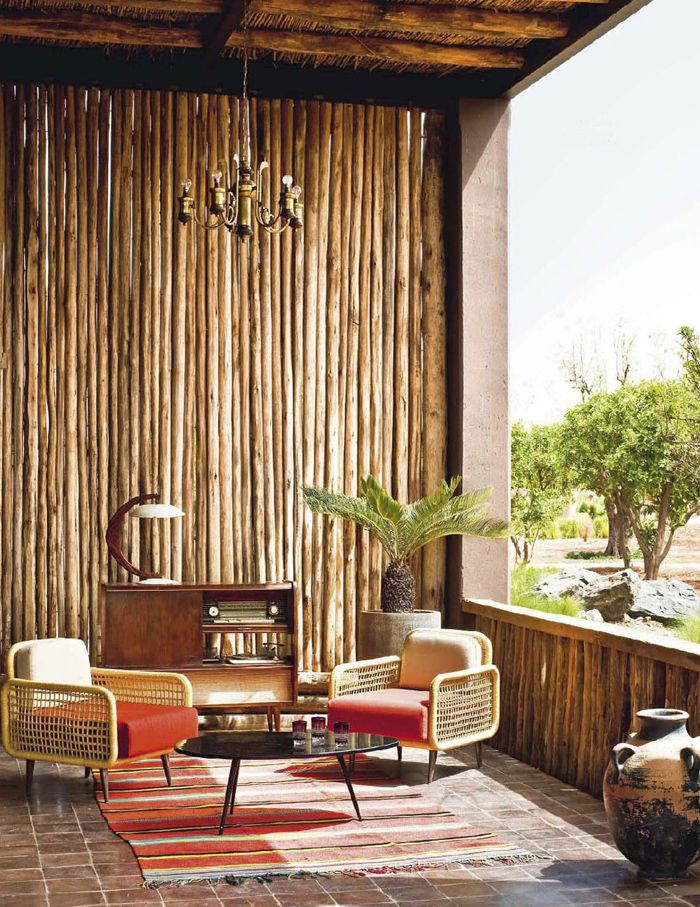 Easy way to transform any patio to create a tropical retreat...why am I so obsessed with bamboo?