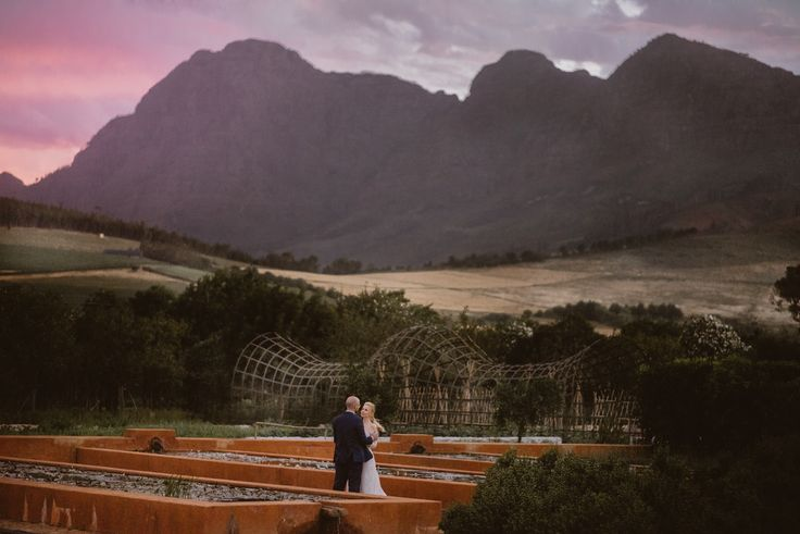 florian + carolin elopement at babylonstoren south africa by sweet bloom photography