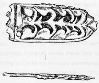 Szíjvég veret (Kaldarhbfđi) - Hagyomány és múltidéző