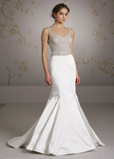 138 best images about weddings on pinterest maggie for Lazaro wedding dress uk