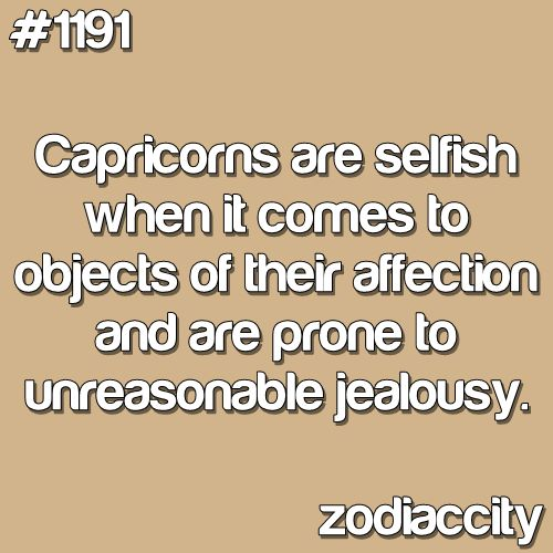 opinion capricorn this shows love jealousy emotions