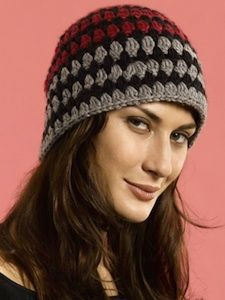 Cozy Cloche Hat - a free crochet hat pattern that's cozy and cute
