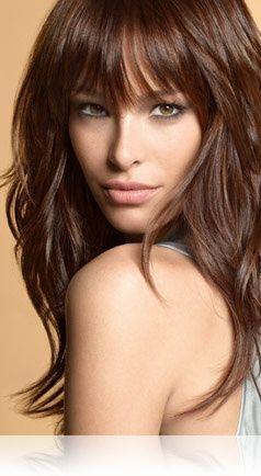 Pleasant 1000 Ideas About Layered Bangs Hairstyles On Pinterest Reddish Short Hairstyles Gunalazisus