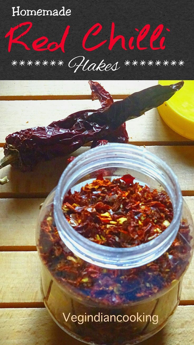 How to make red chili flakes at home | Homemade crushed pepper flakes | Super quick, easy recipe of red chili flakes at home.     ...
