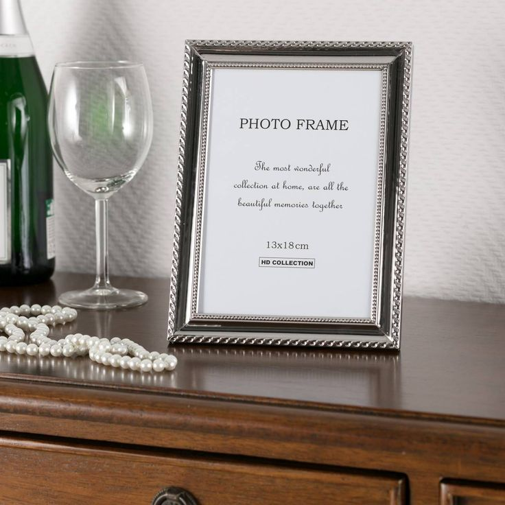 Ramka Rosa 17,5x22,5cm silver 17,5x22,5cm silver #ramki #dekoracje #home #decoration #photo #frames #fotografia #dom #wnetrza #interior