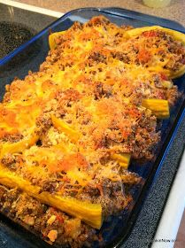 Whatcha Makin' Now?: Stuffed Yellow Squash