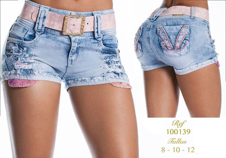 Short colombiano  +Modelos en: http://www.ropadesdecolombia.com/index.php?route=product/category&path=112 #pantalón #pantalones #pantalonescolombianos #moda #shorts